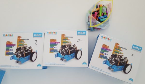 Mbot educational robot kits